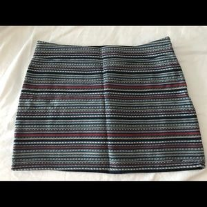 Hollister Skirt with Aztec Print